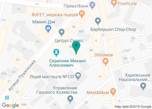 Стоматологическая клиника Доктора Христенко - на карте