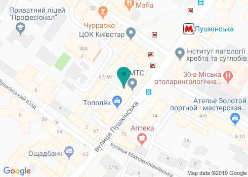 Стоматология доктора Чернова - на карте