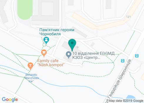 Харьковская городская поликлиника №10, Стоматологическое отделение - на карте