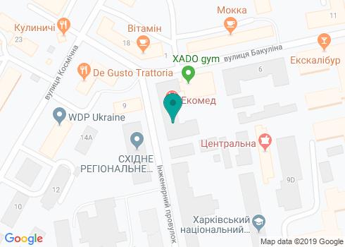 Республиканский центр стоматологической имплантации «РЦСИ Ltd» - на карте