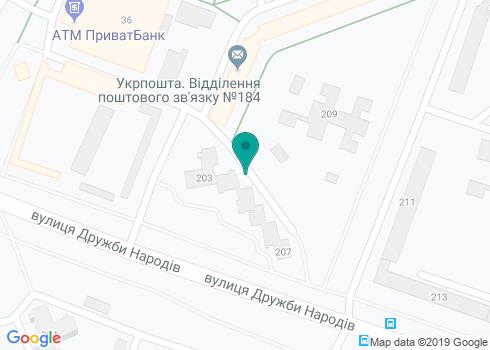 Стоматологическая клиника «Тридент» - на карте