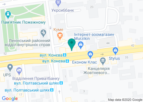 Стоматологическая клиника «Стоматология доктора Литкевича» - на карте