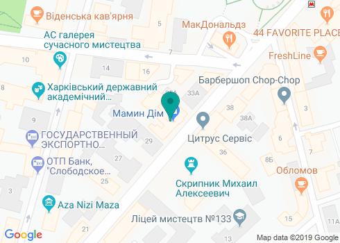 Поликлиника «Мамин Дом», стоматологическое отделение - на карте