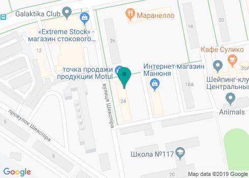 Кабинет стоматологической имплантации Олега Блохина - на карте