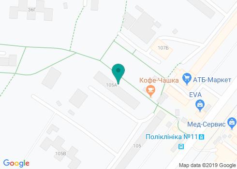 Харьковская городская поликлиника № 11, Стоматологическое отделение - на карте