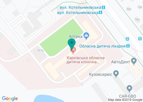 Областной центр детской хирургической стоматологии в ОДКБ №1 - на карте