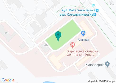 Областная детская консультативная поликлиника ОДКБ №1, стоматологическое отделение - на карте
