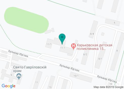 Харьковская городская детская поликлиника № 15, Стоматологический кабинет - на карте