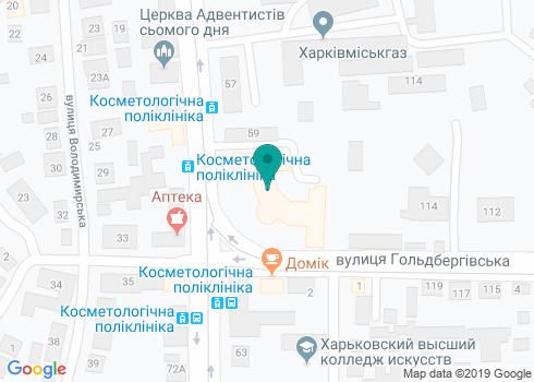 Харьковская городская поликлиника № 22, Стоматологическое отделение - на карте