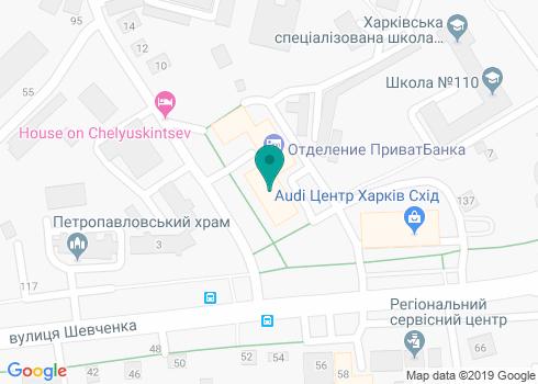 Харьковская городская детская поликлиника №23, Стоматологическое отделение - на карте