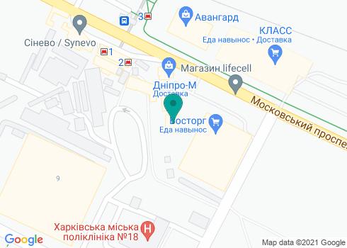 Стоматологическая клиника «ДентаЛ +» - на карте