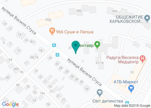 Стоматологическая клиника «Альмадент» - на карте