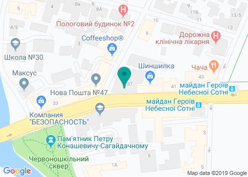 Харьковская городская стоматологическая поликлиника №6 - на карте