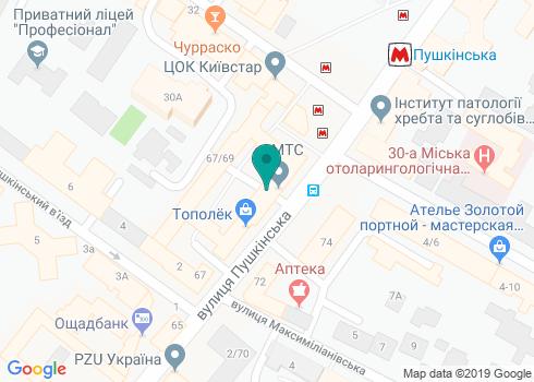 Стоматология Жемчуг на Пушкинской - на карте