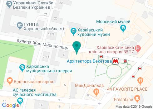 Стоматологический кабинет Бурых Натальи Михайловны - на карте