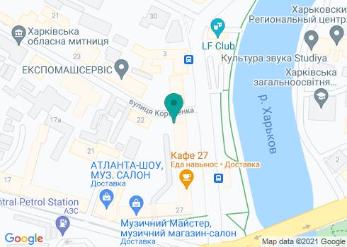 Стоматология на Московском 27 - на карте