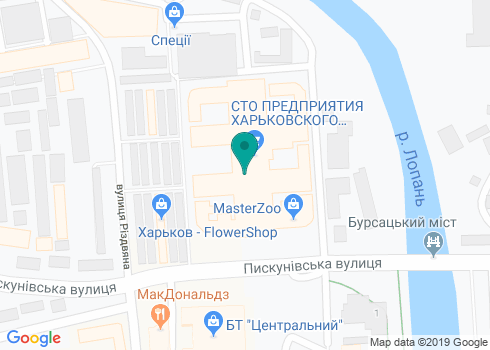 Стоматологический кабинет, ФЛП Чернова Е.Ф.  - на карте
