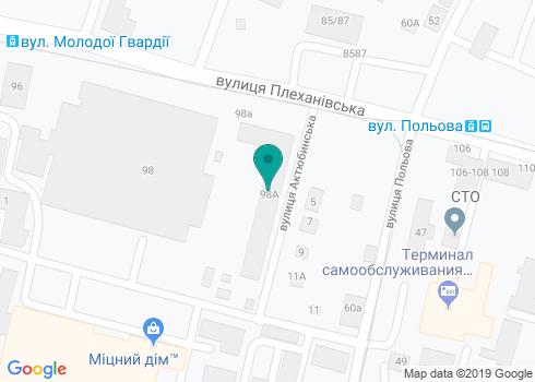 Харьковская городская стоматологическая поликлиника №2 - на карте