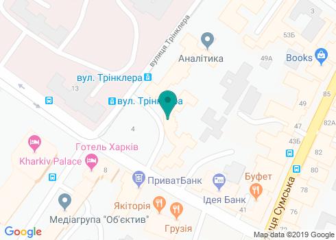 Харьковская областная стоматологическая поликлиника - на карте