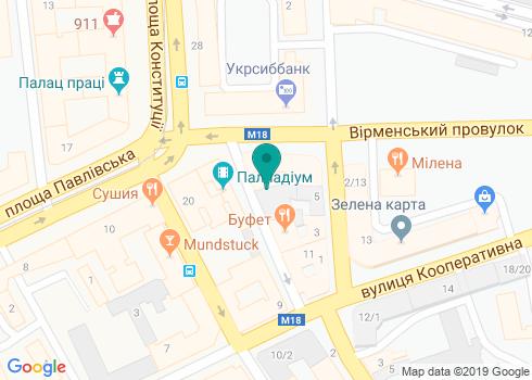 Харьковская городская стоматологическая поликлиника №4 - на карте