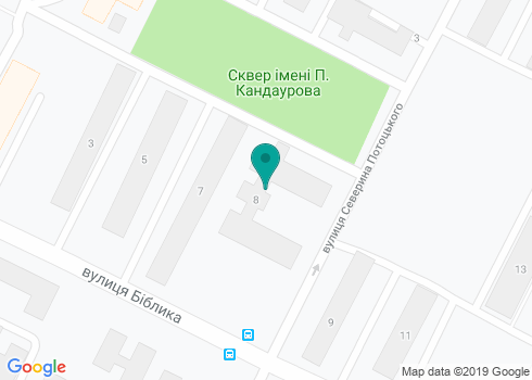 Детское отделение стоматологической поликлиники №5 - на карте