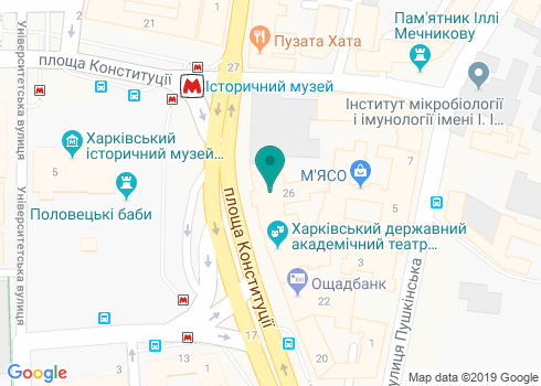 Медицинская клиника «Институт здоровья», стоматологическое отделение - на карте