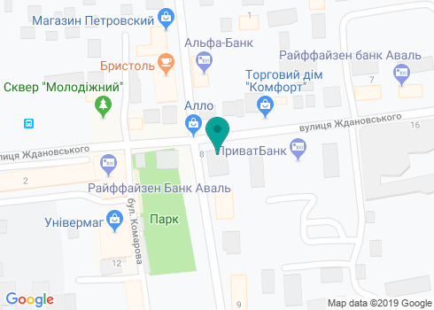 Стоматологический кабинет «Сияние» - на карте