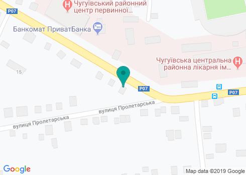 Стоматологический кабинет «Норма» в Чугуеве - на карте