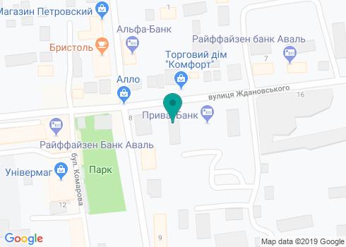 Стоматологический кабинет «Лана» - на карте