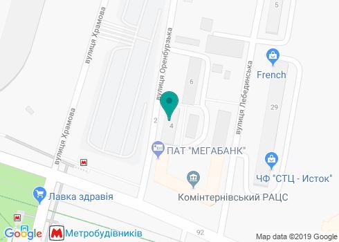 Стоматологическая клиника «Мегастом» - на карте