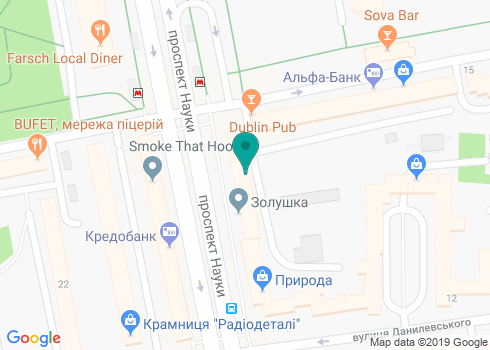Медицинский центр «Велкам» - на карте