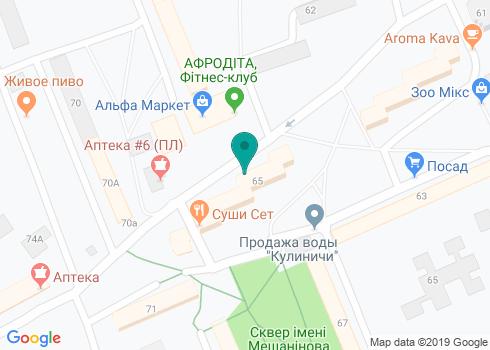 Стоматологический кабинет Таратушко Натальи Николаевны - на карте