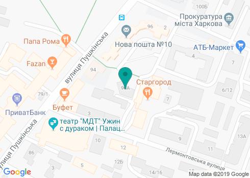 Стоматологическая клиника «Аоста» - на карте