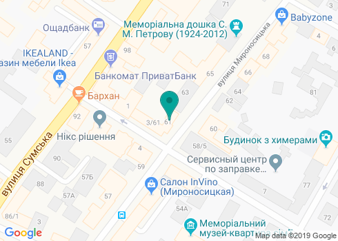 Стоматологический кабинет «Wenta» - на карте