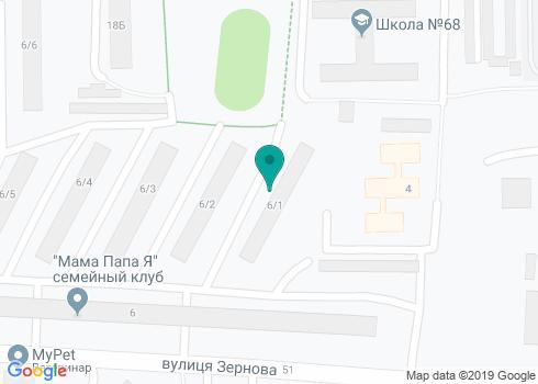 Стоматологический кабинет доктора Скрипки В.В. - на карте