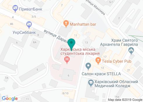 Стоматология Островской Елены Викторовны - на карте