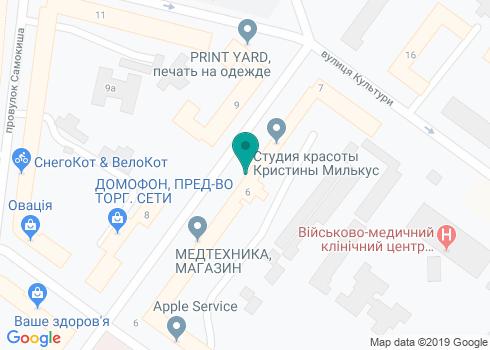 Стоматологическая клиника «Полидент» - на карте