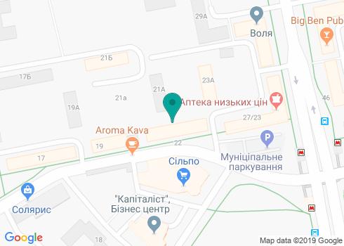 Стоматологический кабинет Прогноза Виталины Валерьевны - на карте