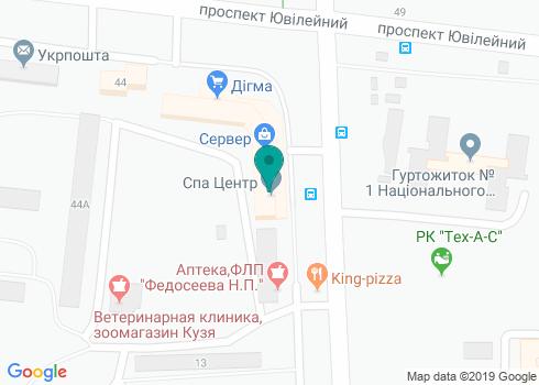 Стоматология, ФЛП Рыкова - на карте