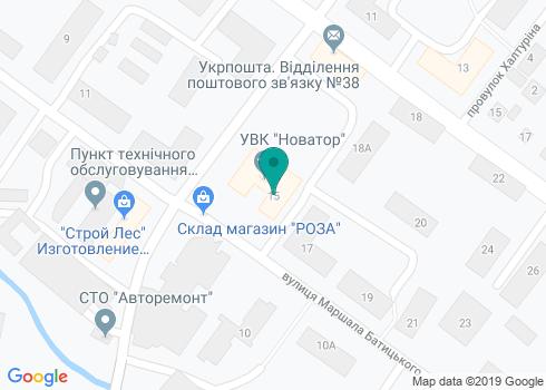 Стоматология на Маршала Батицкого - на карте