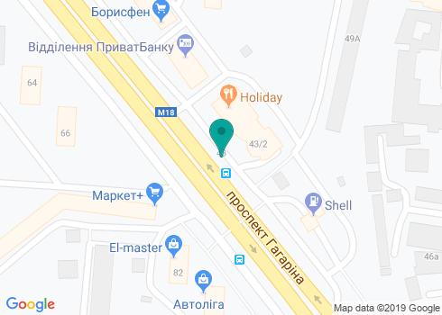 Стоматология, ФЛП Распопов Юрий Станиславович - на карте