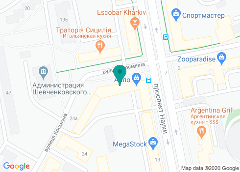 Стоматология, ФЛП Власенко Ю.В. - на карте