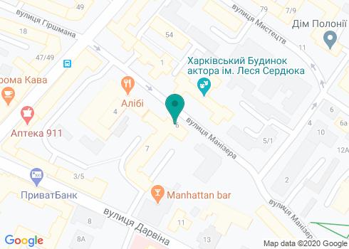 Стоматология Moskovets dental clinic - на карте