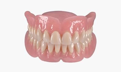 Акриловые пластинчатые зубные протезы (верхняя и нижняя челюсть)