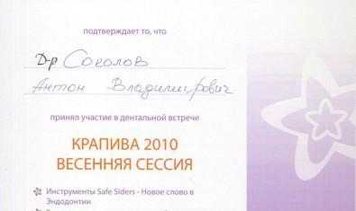 Соколов Антон Владимирович