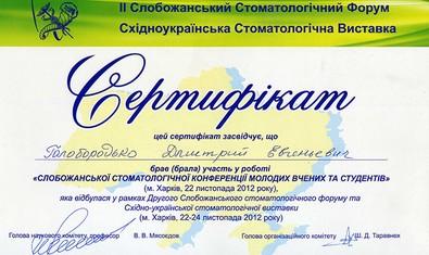 Голобородько Дмитрий Евгеньевич