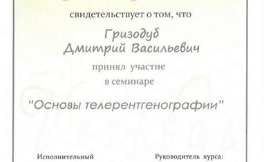Гризодуб Дмитрий Васильевич