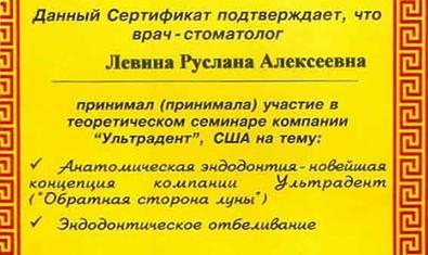 Левина Руслана Алексеевна