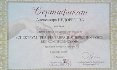 Недорезова Александра Викторовна