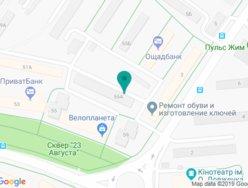 Стоматологический кабинет Белый Олег Евгеньевич - на карте